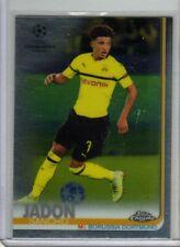 2019 Jadon Sancho Topps Chrome UEFA Champions League Dortmund Rookie #86