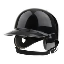 Professional Double Flap Batting Casque Noir Baseball / Softball Helmet