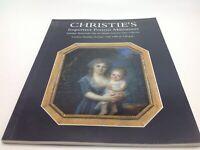 Christie's London Auction Catalog Portrait Miniatures October 15 1996 Important