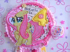 Handmade MY LITTLE PONY Compleanno Rosettes Girl SPILLA DI BARRA MULTIFUNZIONE-EDIZIONE LIMITATA