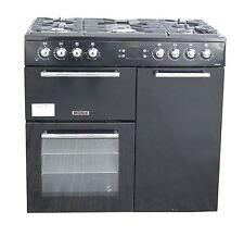 Leisure Dual Fuel Range Cooker AL90F230K 90 CM in Black 2 Ovens 5 Burners #1841