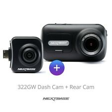 Nextbase Refurbished 322GW Front Dash Cam and Rear Camera Bundle