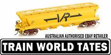 Auscision Models GJF GRAIN HOPPER VR YELLOW 4 CAR PACK VGH-22