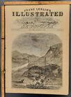 GETTYSBURG ADDRESS Frank Leslie's Illustrated Newspaper December 5 1863 Original