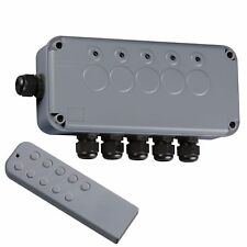 Knightsbridge IP665G Outdoor Remote Wireless Lighting or Pumps Switch Box Kit
