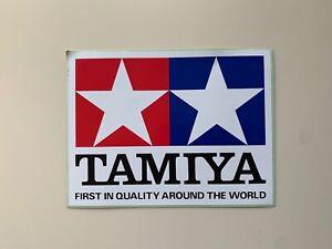 Tamiya Vintage Sticker 160mm x 120mm NOS