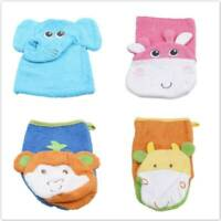 Toddlers Bath Wipe Towel Baby Bathing Exfoliating Shower Gloves Soft Towel Shan
