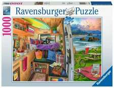 RAVENSBURGER PUZZLE*1000 TEILE*RIG VIEWS*CAMPER PERSPEKTIVE*RARITÄT*OVP