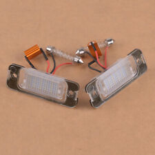 2Pcs No Error License Plate Light SMD LED Fit For Mercedes W163 W164 X164 ML GL