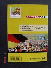 Bund * * MH 88 - Fussball begeistert Deutschland - 2012 m. 10x Mi.Nr. 2936