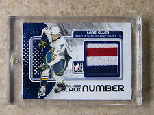 10-11 ITG H&P Heroes Prospects LARS ELLER Game-Used Number Black /6