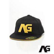 Analog Burton Tilt 210 Flexfit Fitted Cap Hat S-M Black NWT NEW $27£27 30€ Skate