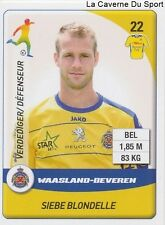 N°272 BLONDELLE BELGIQUE WAASLAND-BEVEREN VITESSE STICKER PANINI PRO LEAGUE 2015