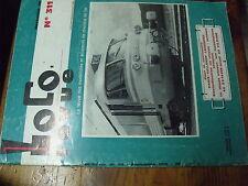 µ?§ Loco Revue n°311 CC 72000 Pont tournant 24 metres Visite Capitole Turbotrain