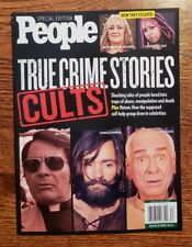 PEOPLE SPECIAL EDITION ~ TRUE CRIME STORIES ~ CULTS ~ 2018