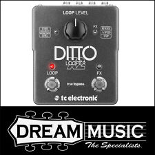 TC Electronic Ditto X2 Looper Stereo Guitar Effects Pedal RP$399