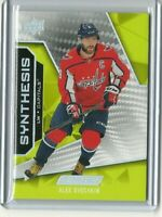 2019-20	Upper Deck Engrained Synthesis	Alex Ovechkin	S-37 Washington Capitals