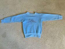 VTG Children's Airplane Sweatshirt Mod 50's 60's Rare Vintage Mod Original Kids