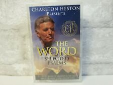 Charlton Heston Presents -- THE WORD Selected Psalms [Cassette Tape, 1999] NEW