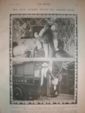 Photo UK singer actress Kate Cutler and motor home 1906