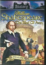 WILLIAM SHAKESPEARE THE BARD OF AVON DVD THE HISTORY FILE ( DELETED PEGASUS)