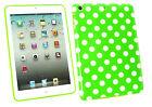 Mince Polka Dot Housse Gel étui Compatible avec Apple IPad Mini / 2 et 3