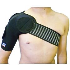 Large Shoulder Support Strap Neoprene Brace Dislocation Injury Arthritis Pain