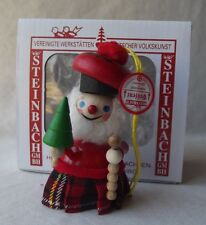 Hand Made German Steinbach Scottish Man Ornament - New In Box