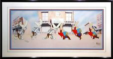 Gunslingers Bugs Bunny Yosemite Sam Virgil Ross Looney Tunes Limited Edition Cel