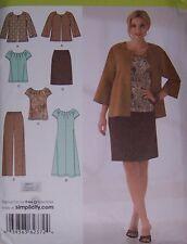 misses New Spring TOP PANTS JACKET pattern 10-18 skirt dress feminine basics
