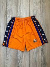 Barcelona Barca 1997-1998 Away Kappa Vintage Football Soccer Rare Shorts size L