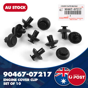 Fit For Toyota Lexus IS LS RC RX Engine Cover Clip, Radiator Support Clip x10