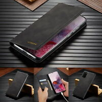 Premium Slim Leather Case Flip Wallet Cover For Samsung S20 Note 20 A21s A51 A41