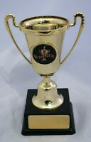 Winner Mini Gold Cup with Handles Trophy 135mm Engraved Free