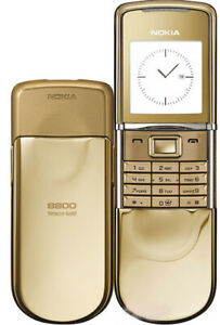 Nokia 8800 Sirocco - Worldwide unlock with original box and full accessorize