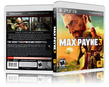 Max Payne 3 - Replacement  PS3 Cover and Case. NO GAME!!
