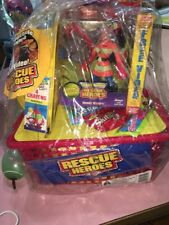 night sound rescue heroes easter basket with hat action figurine