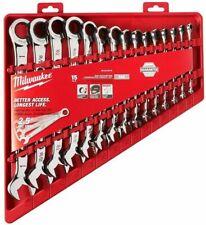 Milwaukee 48-22-9416 15pc combinación llave de trinquete Set SAE Nuevo