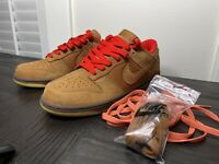 Nike Dunk Low Cl 'Hazelnut' Size 11 SB 6.0 High Mod Jordan Retro 1 Air Force Max