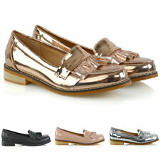 Essex Glam Round Toe Casual Flats for Women