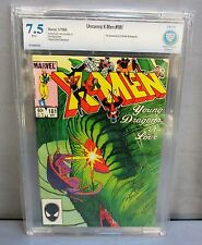 THE UNCANNY X-MEN #181 (White Pages) CBCS 7.5 VF- shape Marvel Comics 1984 cgc