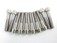Titanium M10 x 45mm 1.25 Pitch Hex Taper Socket Cap Head Ti Bolts Screw 2//5//8pcs