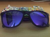 Oakley Custom Frogskin Sunglasses- Purple
