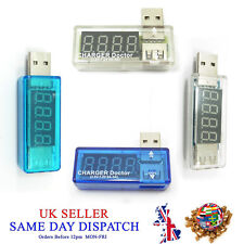 USB Charger Doctor Voltage Meter Detector Tester Power Charger Battery Mobile
