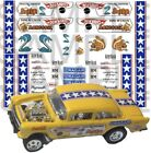 Snake and Mongoose 1:64 WATER-SLIDE DECALS FOR HOT WHEELS, MATCHBOX, SLOT CAR: