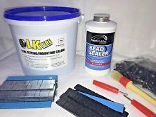 Tyre Fitting Kit,Cream,Bead Sealer,Sitck On Weights,TR414 & Keys Free Black SOW