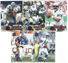1997 Pacific Silver & Copper Seattle Seahawks 5 card lot
