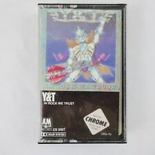 Y&T, In Rock We Trust, Chrome Cassette 1984 A&M Records