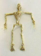 "Golden Wire MAN Charm - "" Mr. Bo Jangles"" - Terrific, Fun Piece - JWG1"