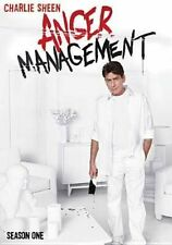 Anger Management Season 1 DVD Complete First Series One Charlie Sheen